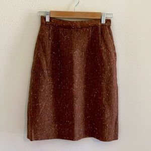 Amazing 60s wool pencil skirt